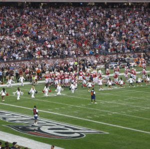Patriots take the field