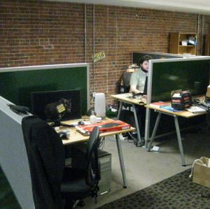 FSF office rearrangement in progress