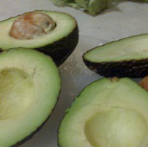 Avocados about to be guacamole