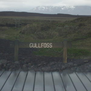 In Iceland at Gullfoss
